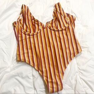 Zaful one piece swim suit